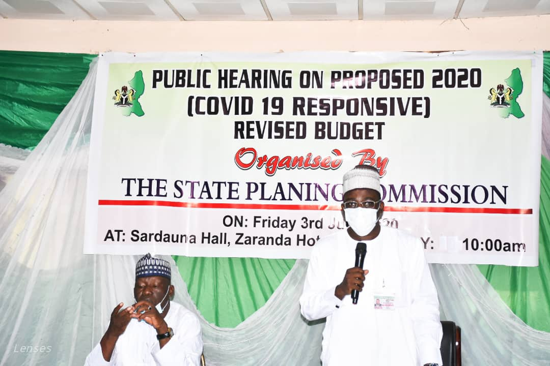 Public Hearing on Proposed 2020 Covid-19 Responsive Revised Budget